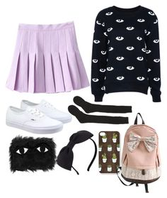 """Untitled #66"" by madi-lmao ❤ liked on Polyvore featuring Samantha Holmes, Vans, Kate Spade and Joanna Pybus"