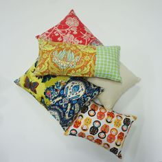 Cushion stack...chose yours !  rosecitron.com.sg
