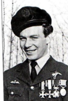 He required more than a year to recover his health before recommencing flight training. He served with 315 & 303 Polish Squadrons, & is credited with 5 kills, 3 damaged, & 1 & 2 shared V-1s destroyed. In 1948 he emigrated to Australia, setting up a jewelry business. He died on 22 Feb. 2010.