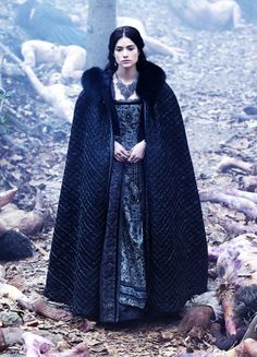 Janet Montgomery in 'Salem' (2014). x