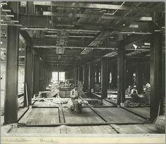 vintage empire state building construction photos by lewis wickes hine 1931 (15)