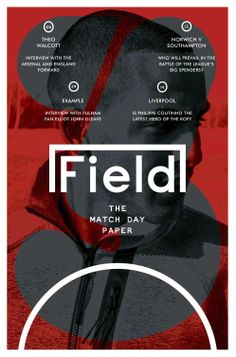 A big fat squashy number 3 for the third edition of FIELD, now into it's second season. We're showcasing the full project here...