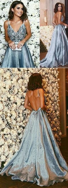 2017 Prom Dresses, Pretty Quinceanera Dresses, Ball Gowns Prom Dresses, Blue Prom Dresses, Sweet 16 Dress,Sexy Gown For Teens