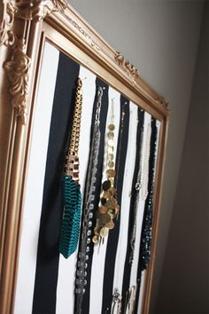 Jewelry Bulletin Board DIY