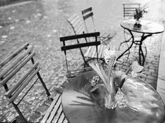 Outdoor Cafe Table, Lucerne, Switzerland Photographic Print by Walter Bibikow at AllPosters.com