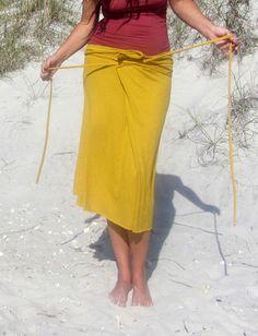 Cocoon Below Knee Skirt