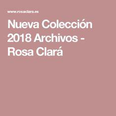 Nueva Colección 2018 Archivos - Rosa Clará