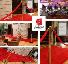 Red Carpet Wedding Reception