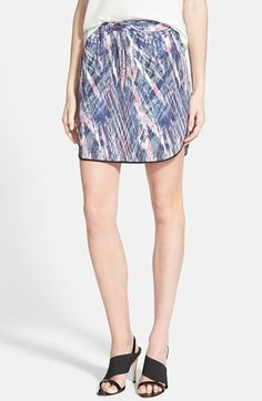 Trouve Trouvé Pull-On Skirt available at #Nordstrom