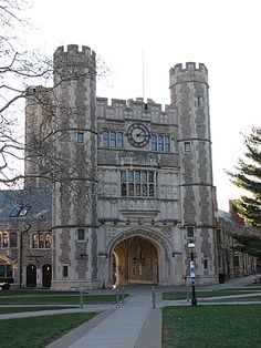 U.S.A. Princeton University, Princeton,  N.J. It reminds me pretty much of Saint John's College in Cambridge, England