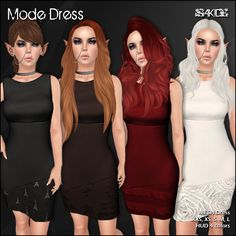 From September 1th to 30  More than hundred stores bringing some of the best fashion items for free or dollarbies.  Elegant MESH Dress with HUD to change between 4 colors. XXS, XS, S, M, L sizes  Hint : We can never have enough rings  TP to SAKIDE  womenstuff.stuff-sl.com/hunters/  B