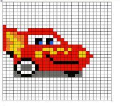 Lightning McQueen for hat, etc.