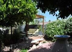 Gazebos not only provide shade, but a place to stay awhile.