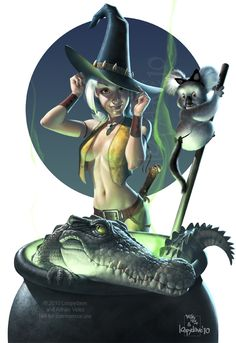 Outback witch by *Loopydave on deviantART