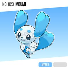 023 Imbumi by zerudez on DeviantArt Oc Pokemon, Pokemon Fake, Pokemon Eeveelutions, Pokemon Fan Art, Pokemon Fusion, Fanart Pokemon, Draw Pokemon, Pokemon Pokedex, Pokemon Starters