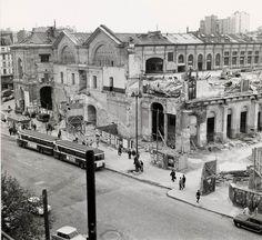 Ancienne Gare Montparnasse. Détruite en 1969.