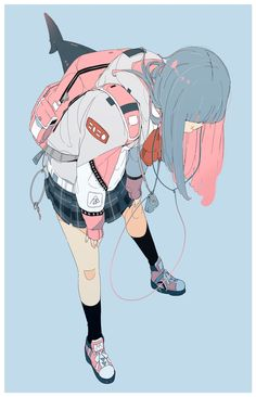 Anime Girl Drawings, Anime Art Girl, Manga Art, Kawaii Anime, Kawaii Art, Cartoon Kunst, Anime Kunst, Pretty Art, Cute Art