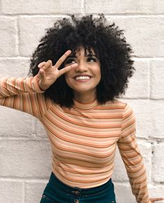 Hair curly black girls natural hairstyles 29 Ideas for 2019 Curly Afro Hair, Curly Hair Styles, Afro Curls, Curly Girl, 4a Natural Hair Styles, Girls Natural Hairstyles, Afro Hairstyles, Trendy Hairstyles, Cabelo 3c 4a