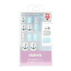 <UL><LI>Includes 24 false nails<LI>Includes nail glue</LI></UL>