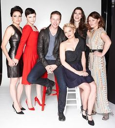 Charming and his girls..... Always.... Haha