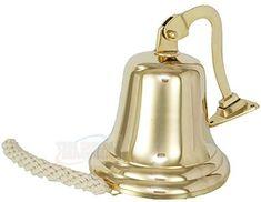 The Metal Magician 6 Solid Brass Ship//Last Orders//Pub//Door//School//Dinner//Reception Wall Mountable Bell