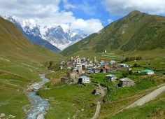 Ushguli in Svaneti, Georgia by Frans.Sellies, via Flickr
