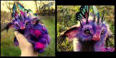 -SOLD-Hand Made Poseable Baby Fairy Lamb! by Wood-Splitter-Lee.deviantart.com on @deviantART