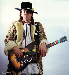 The one and only Stevie Ray Vaughn playin' the Blues lin the ethers now ;o)