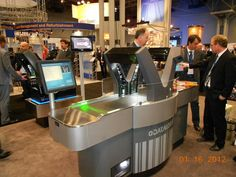 New Self-Checkout Technology Contract Design, Self, Retail, Technology, Cool Stuff, Check, Creative, Shopping, Furniture