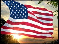 Himno de los Estados Unidos de América y Bandera - YouTube