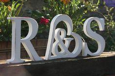Holzbuchstaben & im Herz drinnen