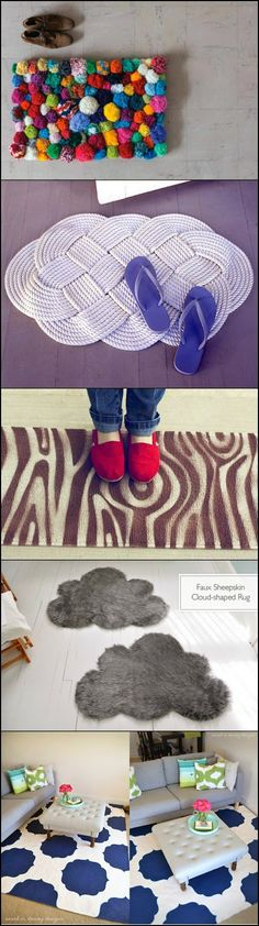 Diy Projects: 25 Amazing Rugs that You Can Make Yourself