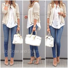Perfect fall outfit. I'm loving neutrals for this season!