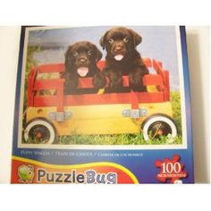 Puppy Wagon Puzzlebug 100 piece