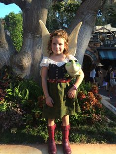Pirate Fairy Zarina Inspired Girls Dress Made by CreativeSparksies