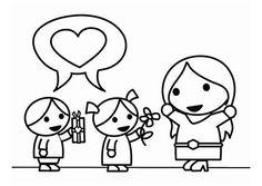 madres e hijos teniendo caricaturas sexuales