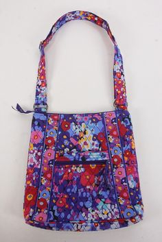 2129cf24426 Vera Bradley Retired Impressionista Larger Hipster Crossbody Bag Purse  Messenger Vera Bradley Crossbody, Consideration,