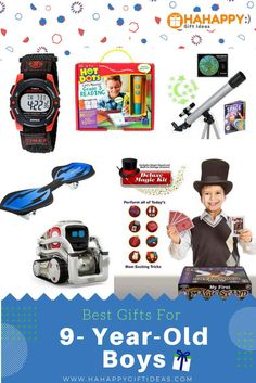 Find The Best Gifts For 9 Year Old Boys Kids Would Love A Gift From This Ultimate Guide Toys And Non Toy Perfect