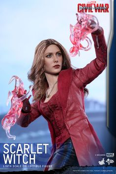 Hot Toys - Scarlet Witch (Captain America: Civil War)