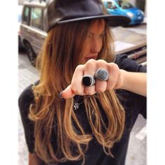 Anello completamente realizzato a mano in argento 925%,a sinistra pietra di onice nera,a destra diamanti neri(nuova collezione available from 26/10/2015) #scognamigliogioielli #lovers #ring #jewelry #jewels #jewel #TagsForLikes #fashion #gems #gem #gemstone #bling #stones #stone #trendy #accessories #love #crystals #beautiful #ootd #style #fashionista #accessory #instajewelry #stylish #cute #jewelrygram #TagsForLikes #fashionjewelry