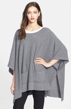 Nordstrom Collection Cashmere Topper available at #Nordstrom
