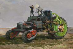 Tornado hunters, Daniyar Kdyrov on ArtStation at https://www.artstation.com/artwork/JDw1z