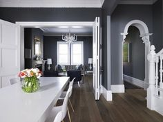 Dark Gray Wall Color grey may be too light and not sure the beige carpet works? | paint