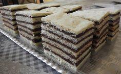 Hatrakott süti, a receptjét még a nagymamámtól tanultam! Sok krémmel a legfinomabb! - Egyszerű Gyors Receptek Beautiful Desserts, Sweet Cakes, Food And Drink, Pie, Sweets, Sugar, Candy, Chocolate, Tiramisu