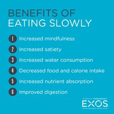 Eating slowly and thoroughly chewing food is an easy way to reduce food intake, manage weight, and decrease risk of weight-related diseases. #diet #nutrition