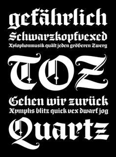 Black Diamond Typeface by Sanchit Sawaria, via Behance