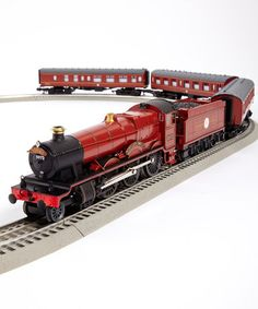 Hogwarts Express RTR O Gauge Train Set by Lionel on today! I want it for my Harry Potter Christmas! Lionel Train Sets, Third Rail, Train Table, Model Train Layouts, Model Trains, Toy Trains, Models, Hogwarts, Harry Potter