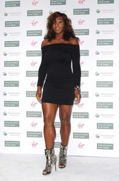 Tennis champion Serena Williams attended Virgin's annual pre-Wimbledon party in London,last night (June 17th) Source I think she looks reallyfeminine in this photograph. Not so HENCH! I re… #wimbledontennis