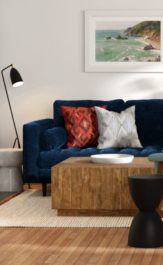 SVEN Cascadia Blue sectional