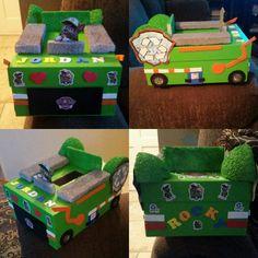 Rocky from Paw Patrol Valentine Box